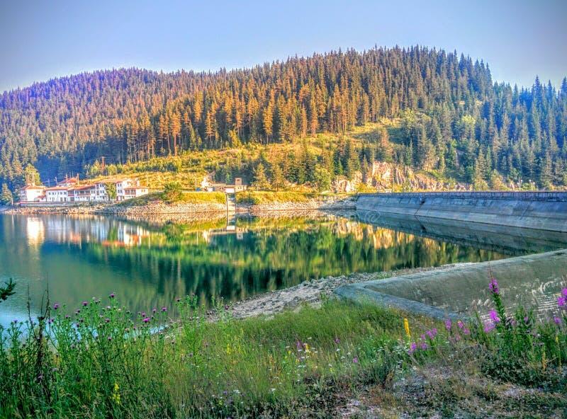 Den härliga naturen av Bulgarien arkivbild