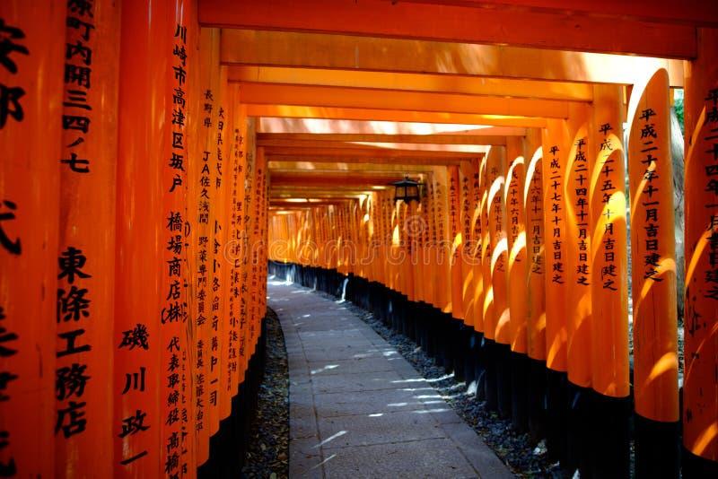 Den härliga templet i Kyoto, kultur och religion fotografering för bildbyråer