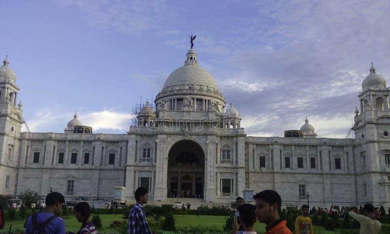 Den härliga Victoria Memorial royaltyfri fotografi