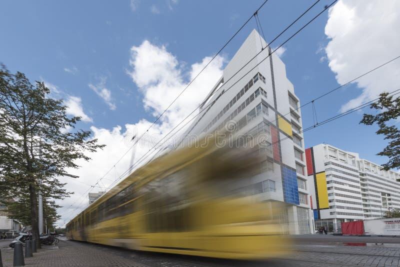 Den Haag öffentlicher Transport stockfoto