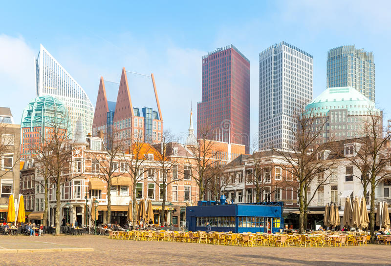 Den Haag die Niederlande lizenzfreie stockfotografie