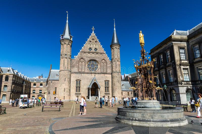 Download View Of The Inner Court Or Binnenhof A Complex Of Buildings In T Editorial Photography - Image of ministry, binnenhof: 101500722