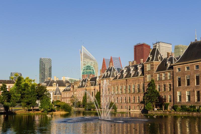 Den Haag Skyline lizenzfreies stockbild