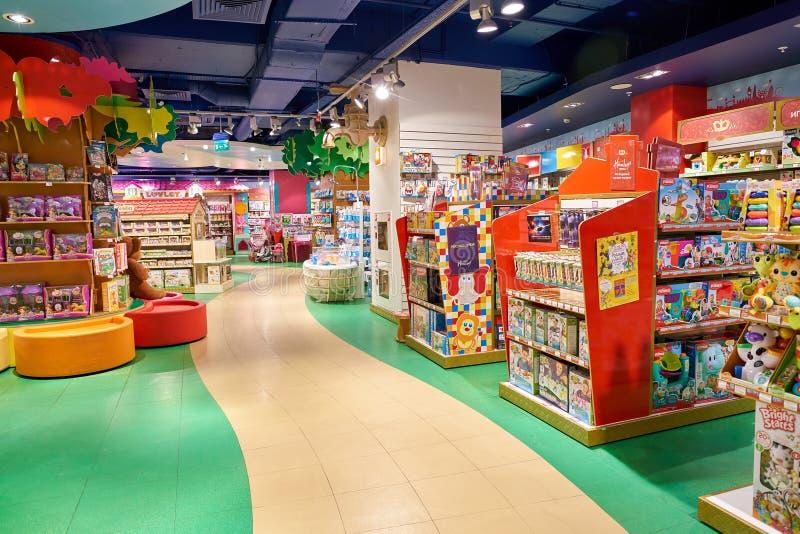 Den Hamleys leksaken shoppar arkivbilder