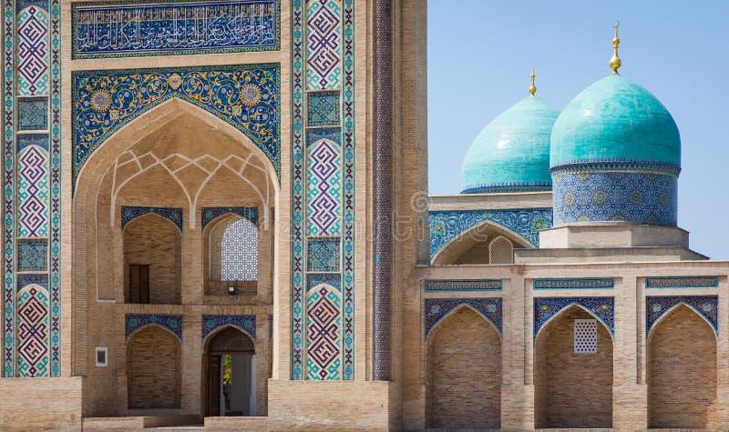 Den Hast imamen Square Hazrati Imam är en religiös mitt av Tashken fotografering för bildbyråer