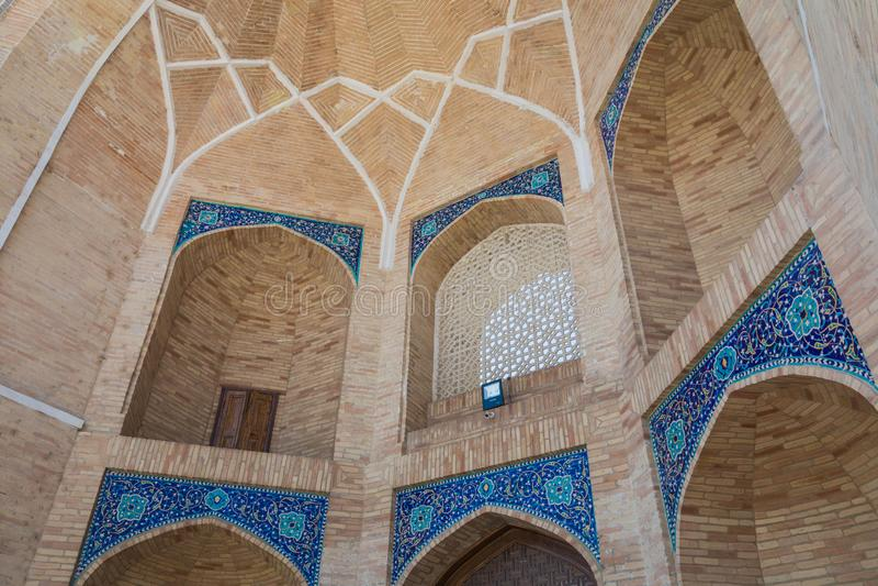 Den Hast imamen Square Hazrati Imam är en religiös mitt av Tashken arkivbild