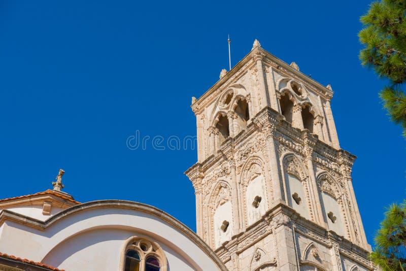Den heliga korskyrkan Lefkara by, Larnaca område cyprus royaltyfria foton