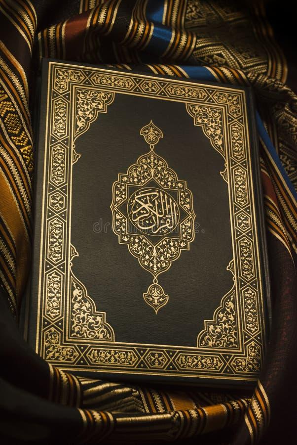 Den heliga quranen royaltyfri bild