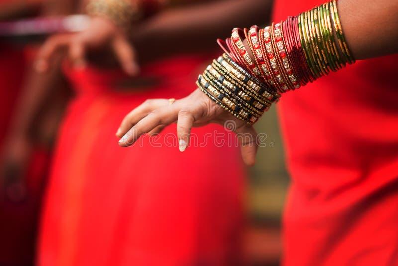 Den hinduiska fantasten räcker royaltyfria foton