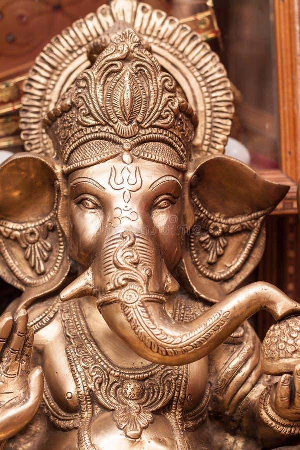 Den hinduiska guden Ganesh arkivbilder