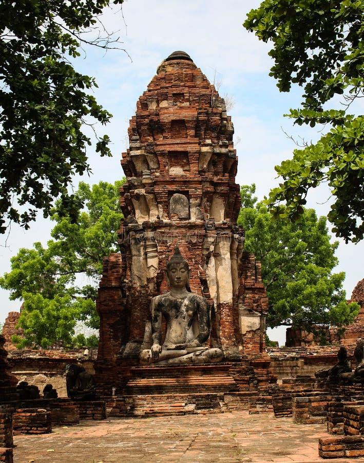 Den historiska platsen är i ett bra tillstånd av bevarande royaltyfri fotografi