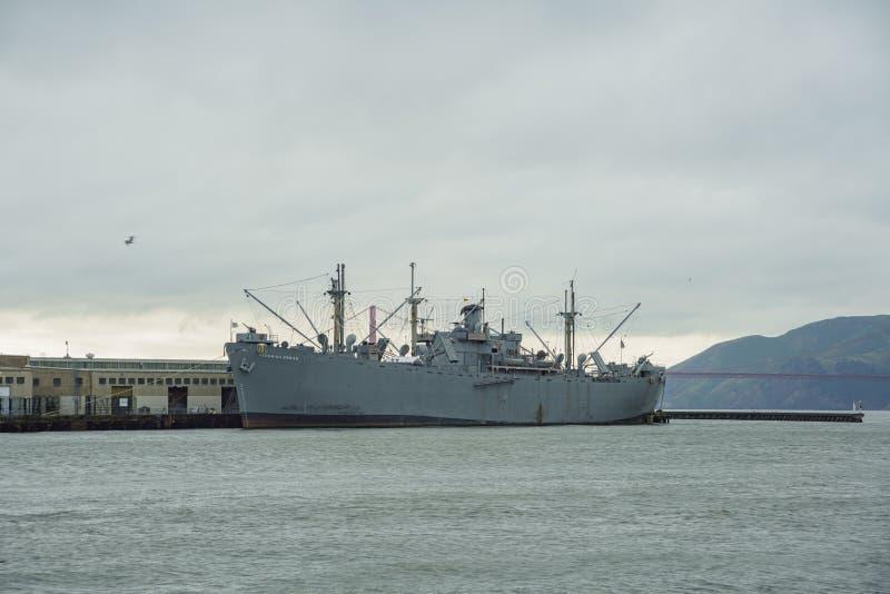 Den historiska USS Pampanito arkivbilder