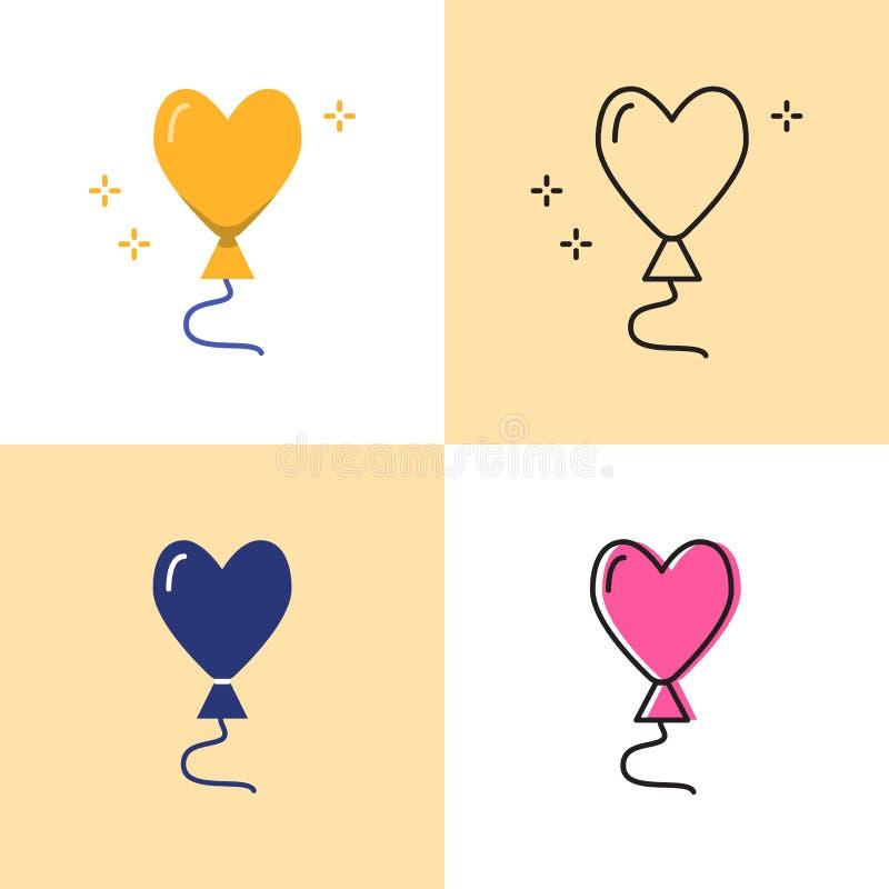 Den hj vektor illustrationer