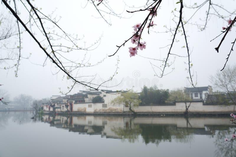 Hong by i det Anhui landskapet, Kina royaltyfri foto