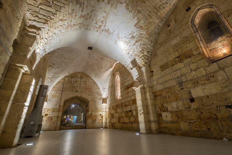 Den Hospitaller fästningen royaltyfri bild