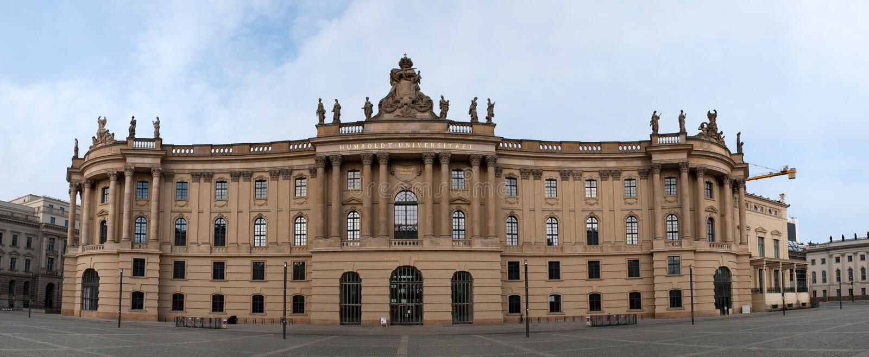 Den Humboldt universitetar av Berlin royaltyfri fotografi