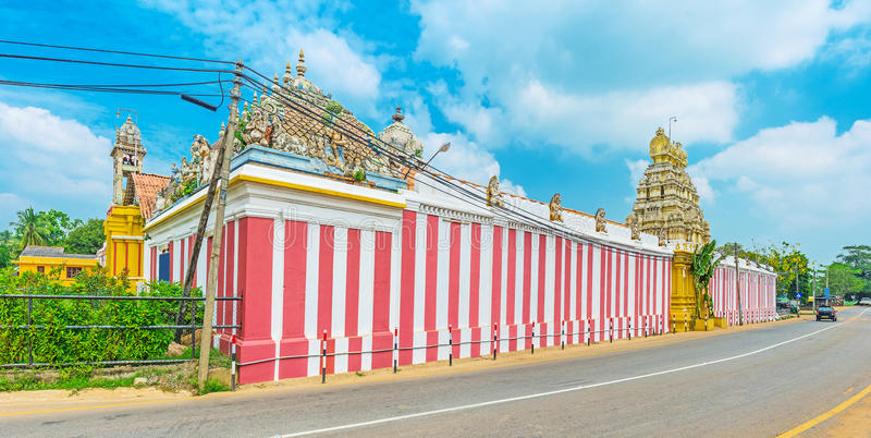 Den huvudsakliga Shiva Temples i Sri Lanka royaltyfri bild