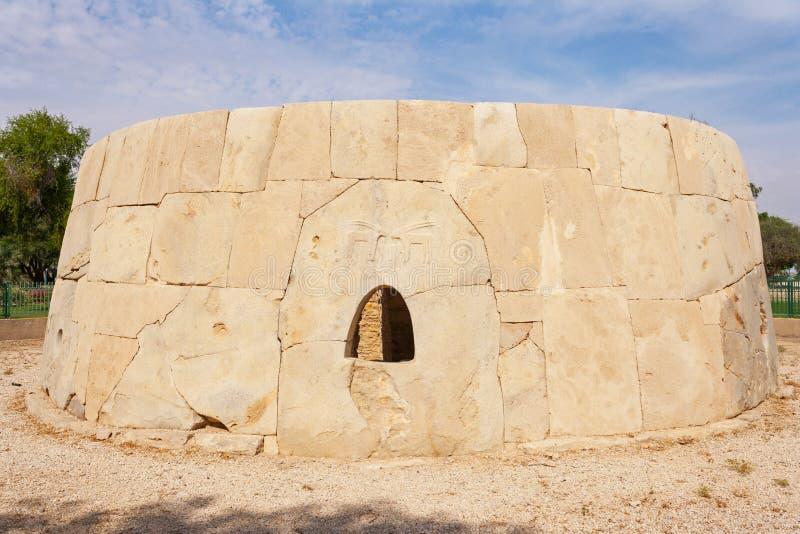 Den Iconic stora Hili Tomb arkivbild