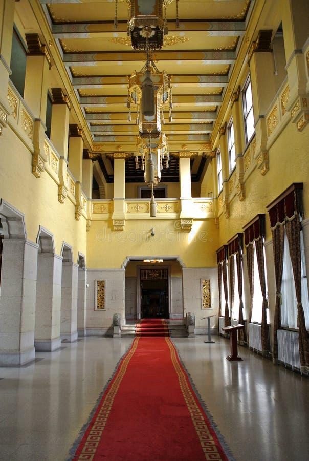 Den imperialistiska slotten av Manchukuo royaltyfria foton