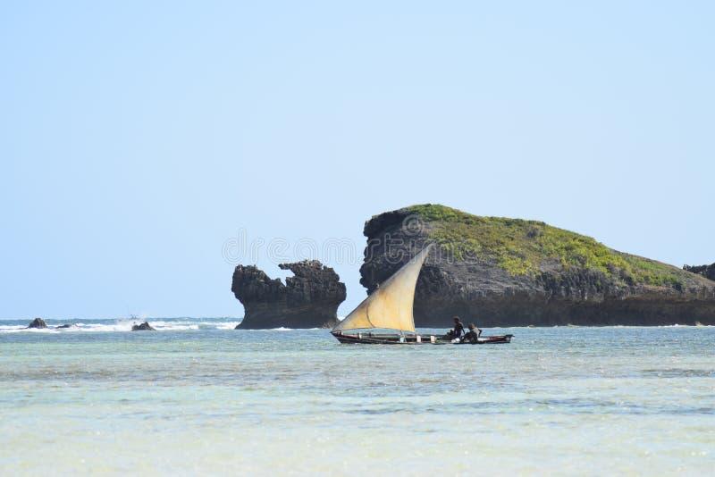 Den indiska havdhowbortgången vaggar arkivfoton