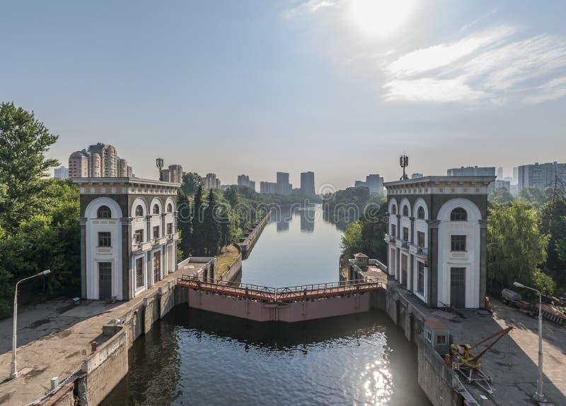 Den ingen nyckeln kanal 9 Moskva Mnevniki arkivfoto