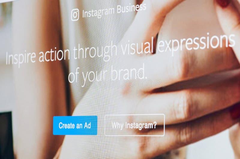 Den Instagram affären inspirerar royaltyfria bilder
