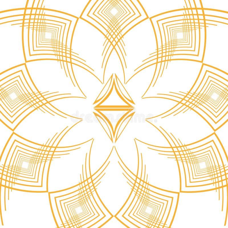 Den isolerade art déco formar design vektor illustrationer