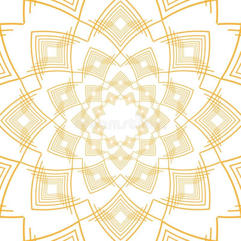 Den isolerade art déco formar design royaltyfri illustrationer