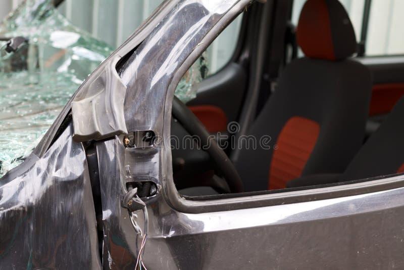 den isolerade bilillustrationen för olyckan 3d framförde white royaltyfri bild