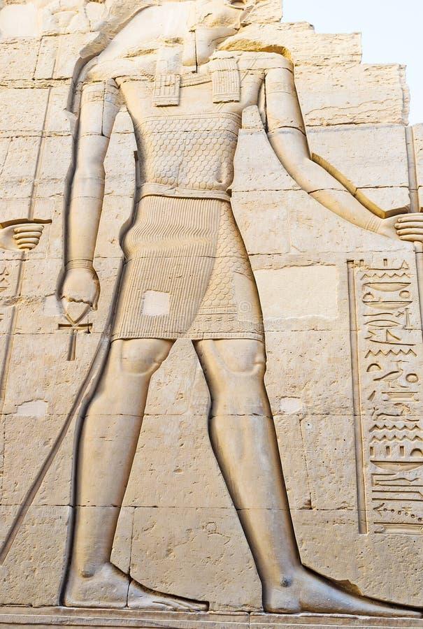 Den jätte- Horusen fotografering för bildbyråer