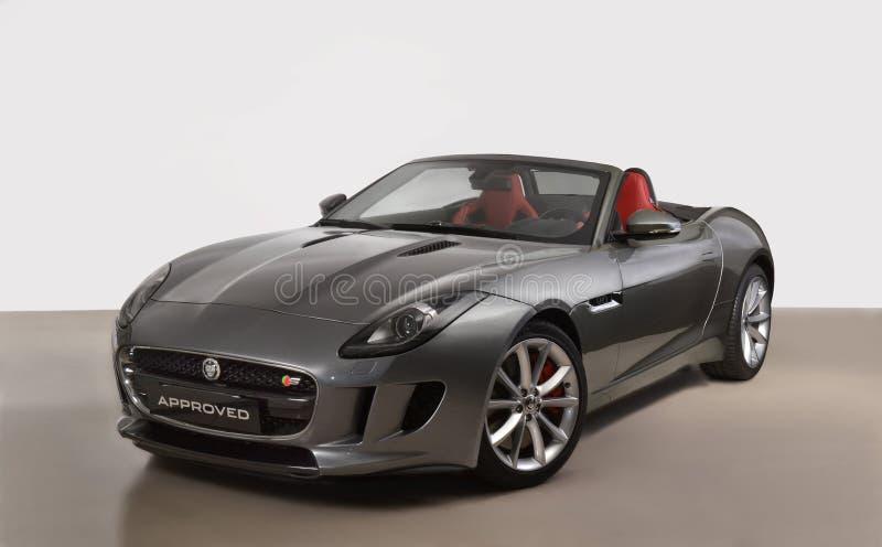 Den Jaguar bilen arkivbild