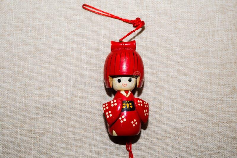 Den japanska dockan royaltyfri fotografi
