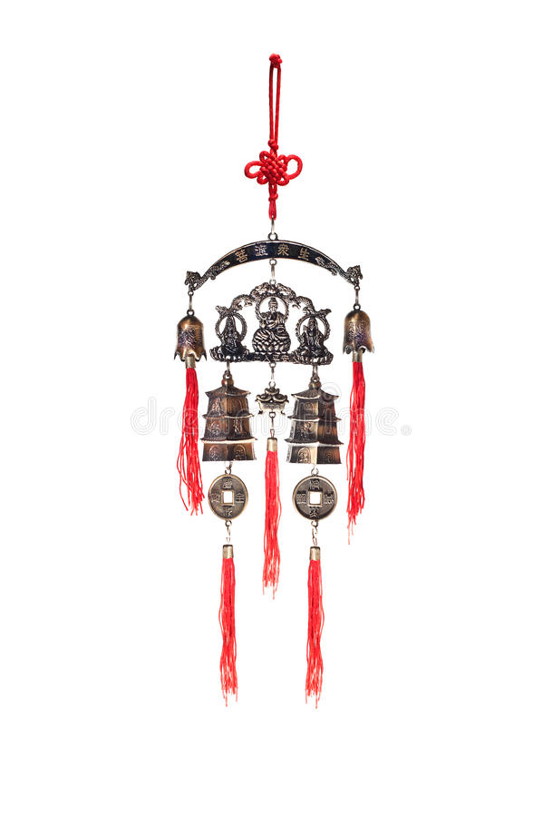 Den kinesiska fengshuiamuletten royaltyfria bilder