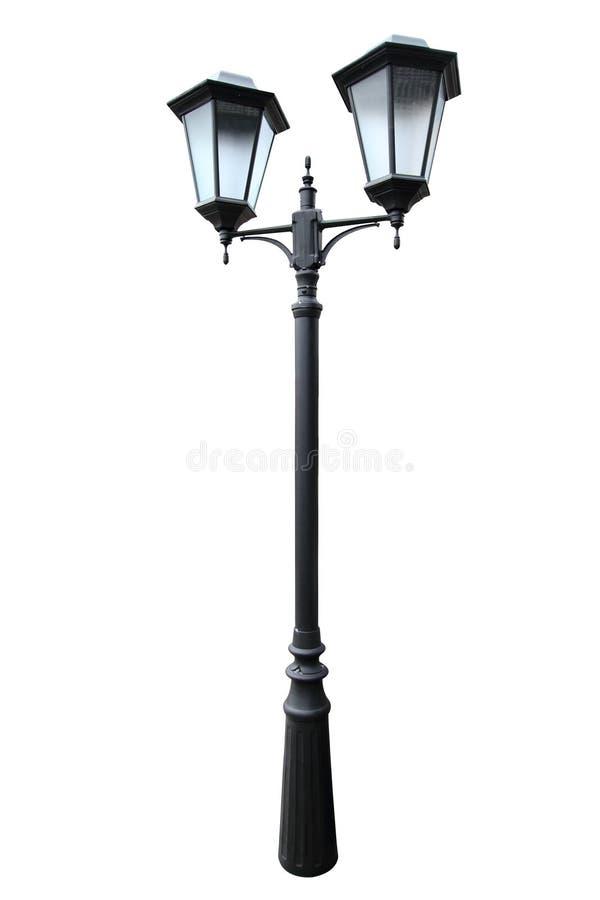 Download Den klassiska gatalyktan arkivfoto. Bild av över, lampa - 37345124