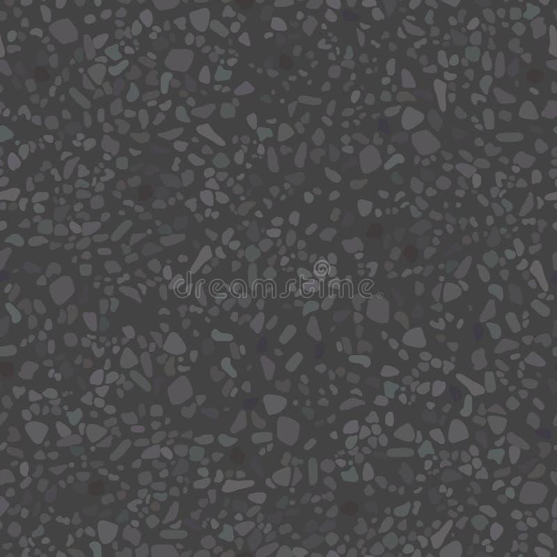 Den korniga texturen av asfalten stock illustrationer