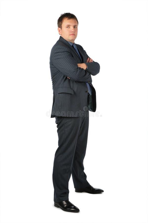 den korsade bröstkorgen hands manstands arkivfoton
