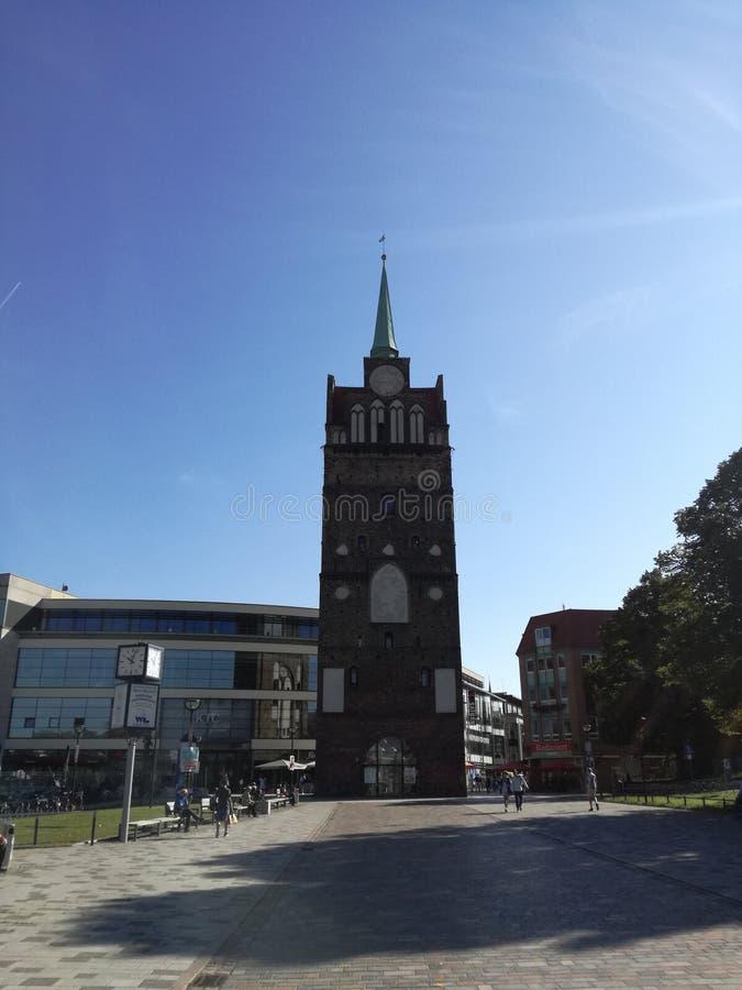 Den Kröpeliner toren arkivbild