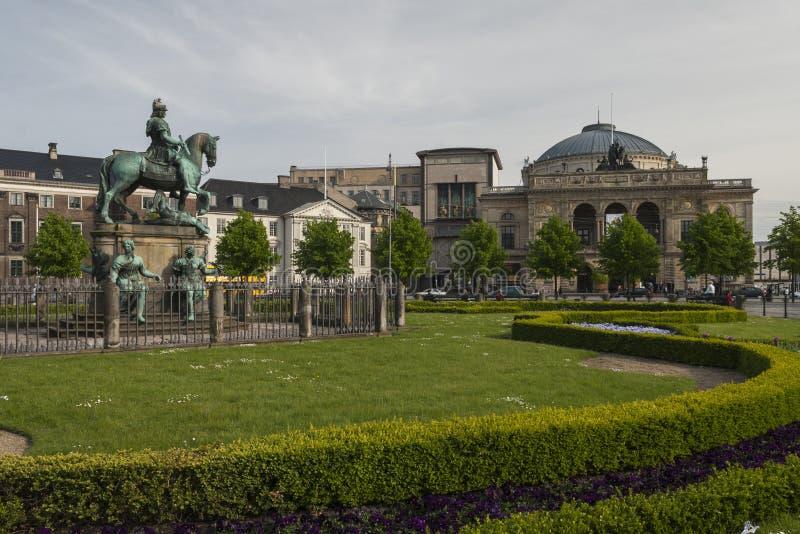 Den kungliga danska teatern royaltyfri foto