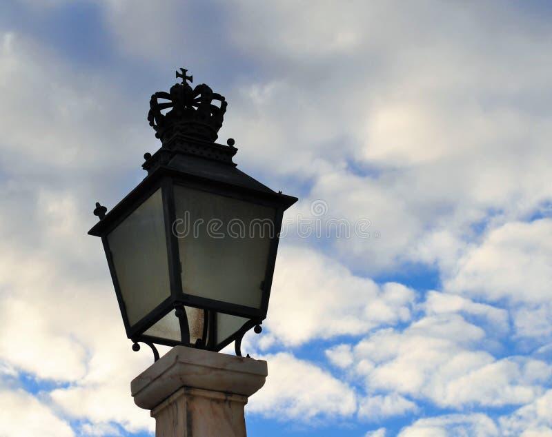 Den kungliga lampan arkivfoton