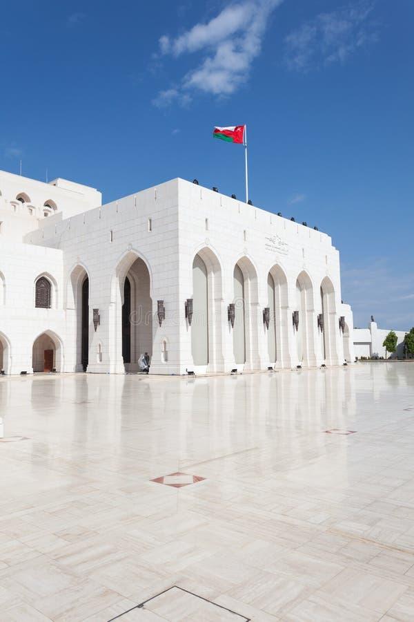 Den kungliga operahuset Muscat, Oman arkivfoto