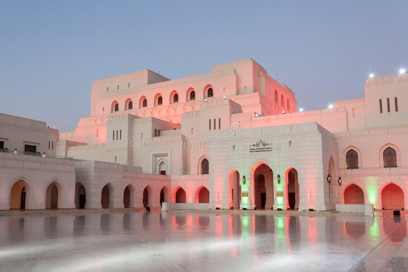 Den kungliga operahuset Muscat, Oman royaltyfria foton