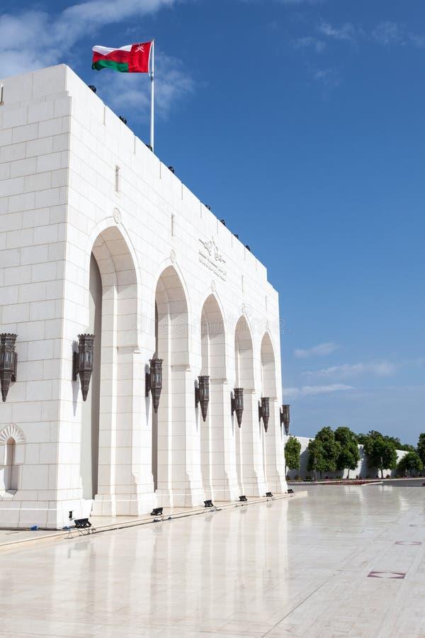 Den kungliga operahuset Muscat, Oman arkivfoton