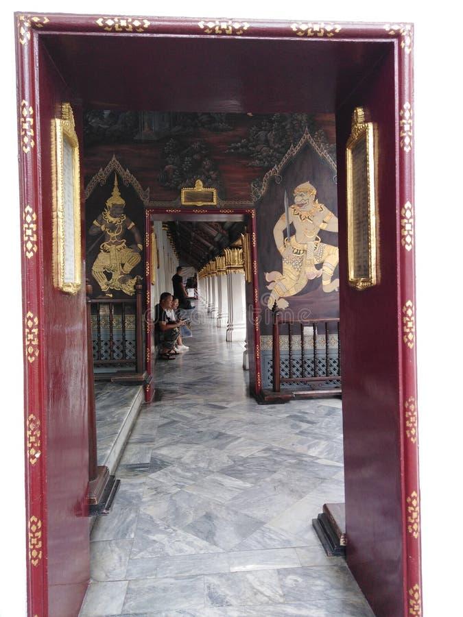 Den kungliga slotten i Bangkok royaltyfria bilder