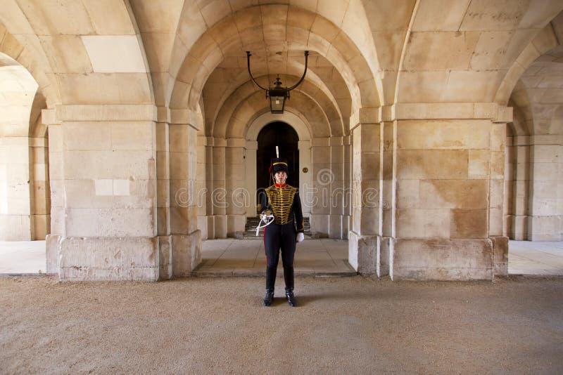 Den kungliga vakten royaltyfri bild