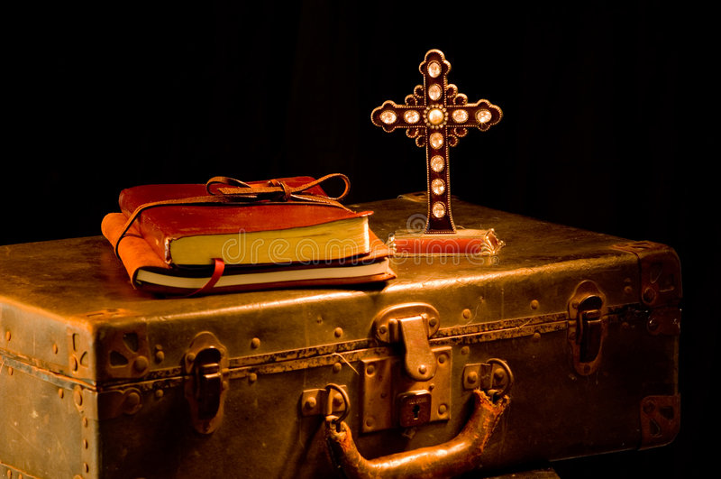den kyrkliga missions- klosterbrodern levererar tappning arkivbilder