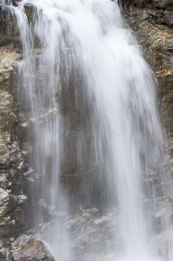 Den lägre Reid Falls i Skagway, Alaska arkivfoto