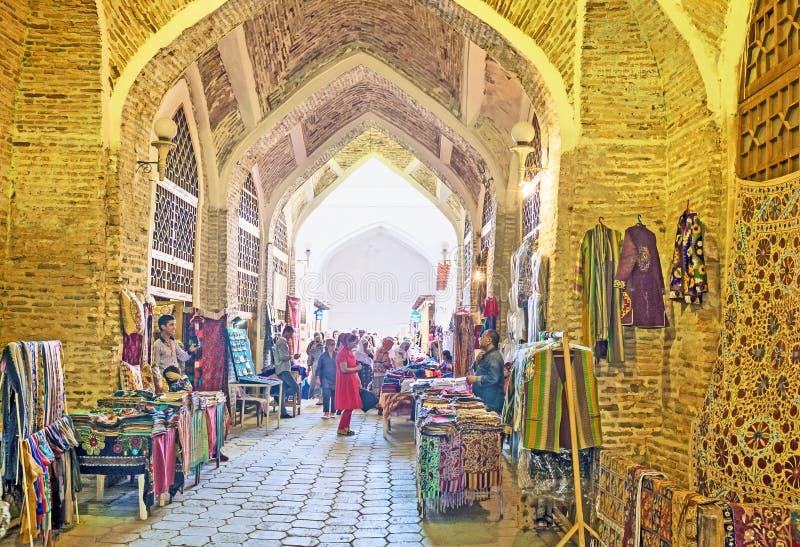 Den långa korridoren royaltyfri bild