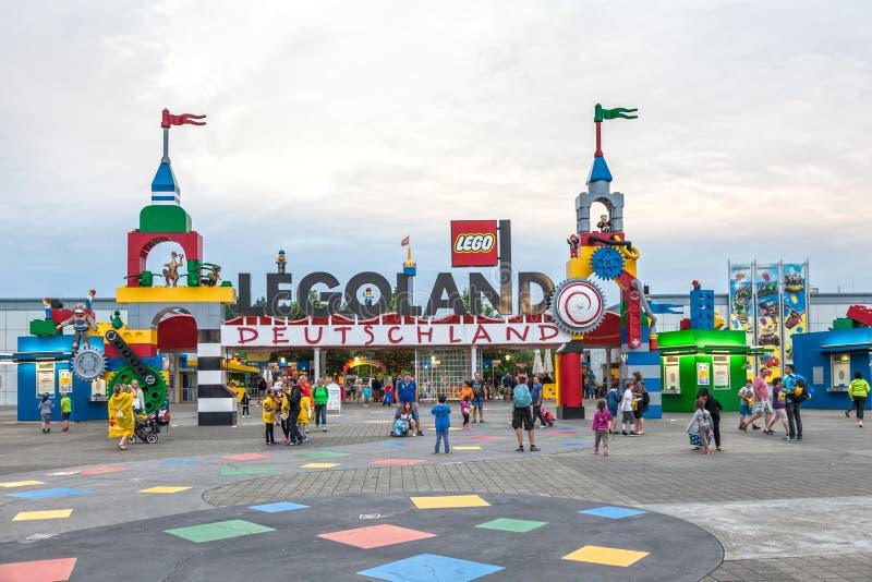 Den Legoland Tyskland royaltyfri bild