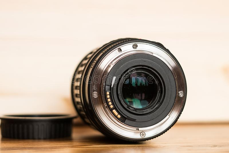 Den Lens monteringen arkivbilder