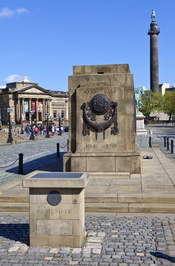 Den Liverpool cenotafiet fotografering för bildbyråer
